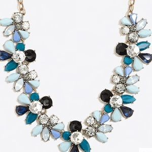 Stunning jcrew colorful statement necklace